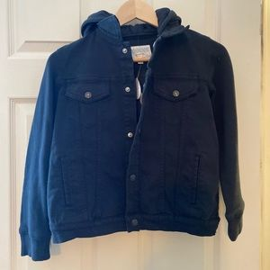 Boys Gymboree denim jacket, new with tags